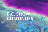 B.C.: Heavy snow closes schools, Arctic blast prompts widespread warnings