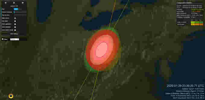 Satellite-Collision-Map-LeoLabs
