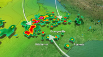 Multi-day storm setup in Ontario favourable for torrential rains, strong winds