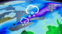 Hefty shot of 10-15 cm of snow likely to impact travel in Ontario