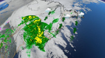 Rain to cease in Maritimes as storm eyes Newfoundland with downpours