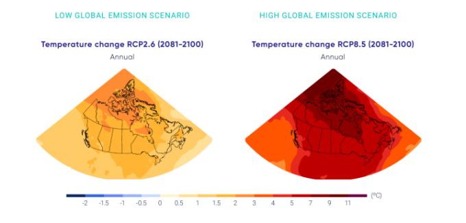 RCP emission scenarios