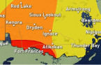 Severe storm threat continues for southern Manitoba and northwestern Ontario
