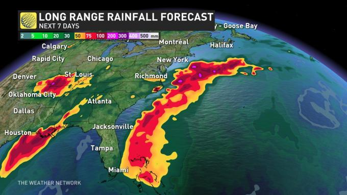 The Weather Network - Tropical Storm Dorian roars to life ...