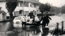August 14, 1975 - A 'One-In-20,000 Year' Rainfall