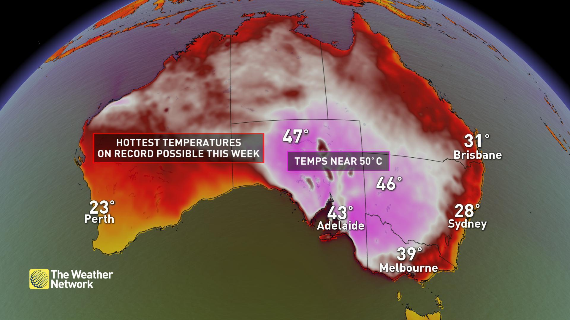 Hottest day ever record broken - again