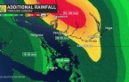 Wet weather continues following a 'month's worth' of rain fell on B.C. coast