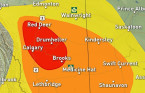 Prairies: Strong signal for potent storms, local tornado