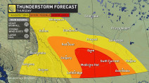 Prairies: 'Significant severe weather threat' unfolding, tornado risk Thursday