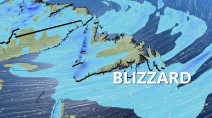Atlantic: Blizzard lashes Newfoundland, next snowy system looms