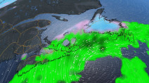 Active storm track sends multiple systems into Atlantic Canada