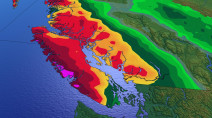 B.C.: Heavy rain returns to coast for partial weekend washout
