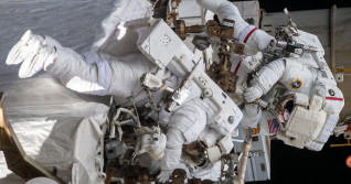 Watch NASA's first all-women spacewalk as astronauts fix station power systems