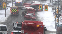 Wintry blast yields difficult travel across the GTA and southern Ontario