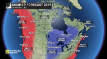 UPDATED: What we expect for the heart of Canada's summer season
