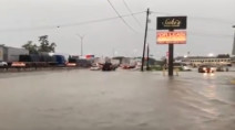 Torrential rains from storm Imelda submerge parts of southeast Texas