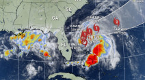 Humberto expected to become a hurricane, hinders relief efforts in Bahamas