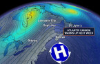Atlantic: Significant warm-up with spring-like temperatures coming