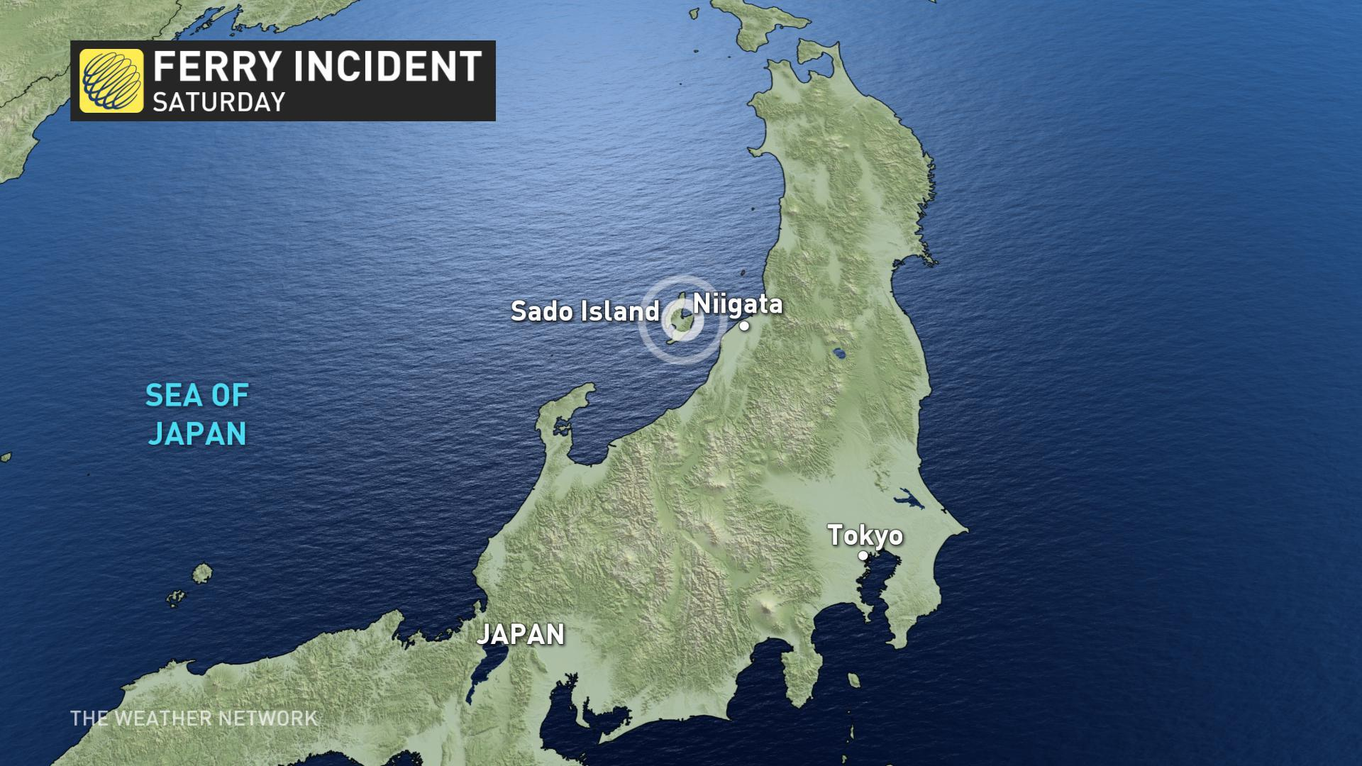 Dozens injured after ferry collides with marine animal off Japanese island