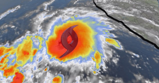 Andres rises in east Pacific, sets record for earliest named storm