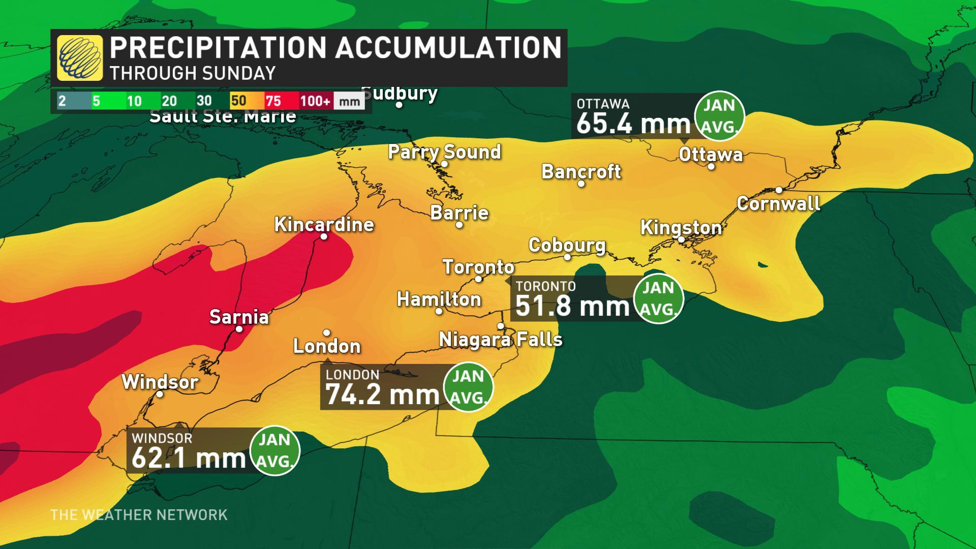 Weekend storm will bring messy mix of precipitation to Ontario