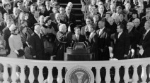How weather has impacted US presidential inaugurations, namely the Kennedy storm