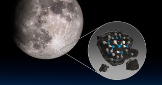 NASA telescope spots molecular water on the sunlit Moon surface