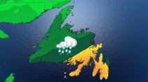 Atlantic: Drying out, warming up Friday but new low threatens more soaking rains