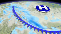 Weather whiplash on the Prairies as arctic air, swath of snow sweeps in