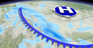Weather whiplash on the Prairies as Arctic air, swath of snow set to sweep in