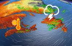 Scattered thunderstorms across Atlantic Canada, changeable pattern continues