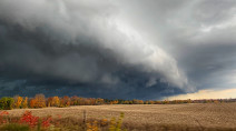IN PHOTOS: Late-season severe weather in Ontario with tornado-warned storms