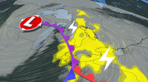 Ontario: Weekend system will feature spring thunderstorms
