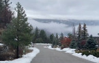 Why is it always so cloudy in the winter season in B.C.'s Okanagan Valley?