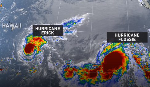The Weather Network - Two hurricanes move toward Hawaii