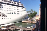 Venice cruise ship slams into docked boat, injuries reported