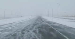 Possible blizzard setup on the Prairies before temperatures plummet