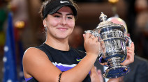 Bianca Andreescu to be greeted by thousands of fans and dry, but cool, weather