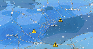 Ontario: Millions face snowy, messy Friday morning commute