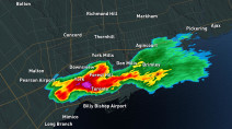Ontario: Storms continue after brief tornado warning in northern GTA regions