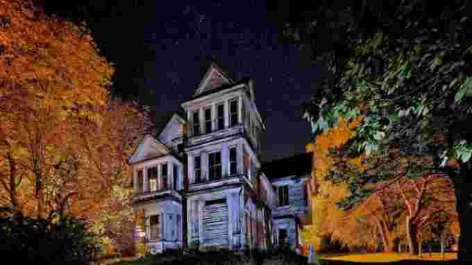 Haunted House Barry Burgess UGC Annapolis County Nova Scotia