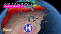 'Summer 2.0' heat and humidity on the way for much of Canada