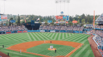 Rainouts at Dodger Stadium are very rare, aside from this three-day streak