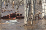 N.B. Floods: Saint John water levels dip below flood stage
