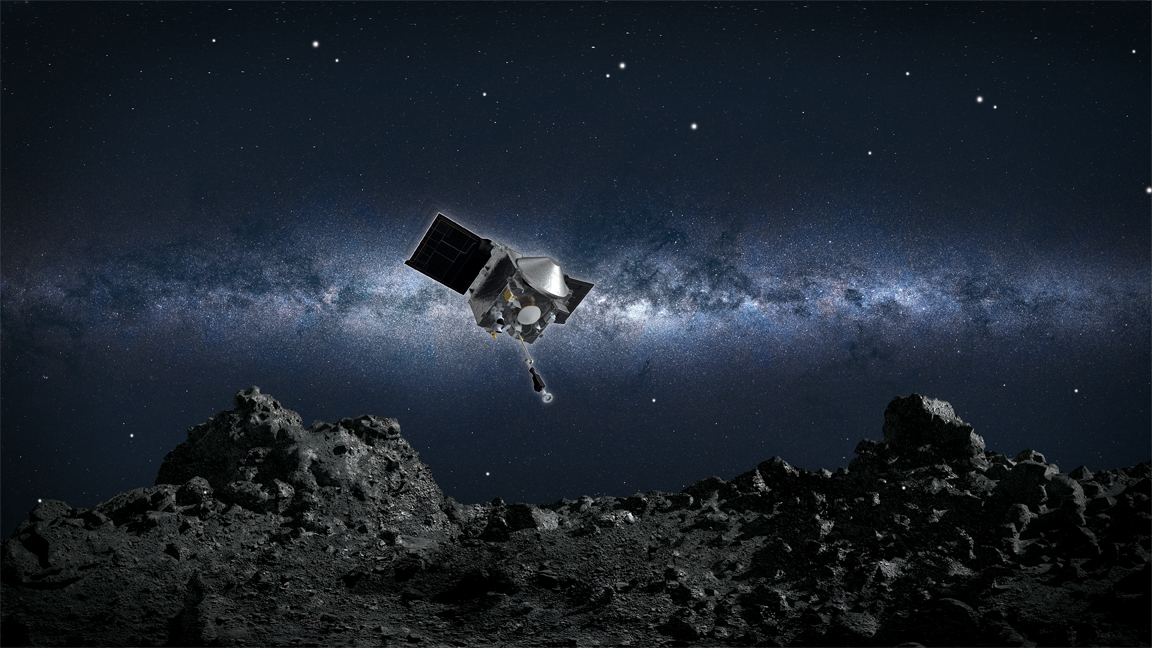 Utah State helps NASA collect pebbles from the surface of an asteroid