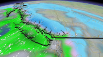 B.C.: Risks of localized flooding, avalanches, freezing rain with potent system