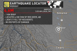 'Very short, sharp shock': Earthquake hits central Alberta