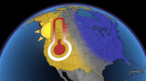 Major temperature swap underway in Canada, West sees warmth as the East cools
