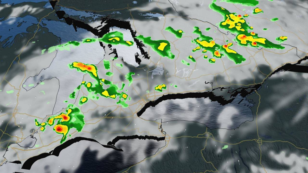 Ontario: Severe storms start to fire up, warning issued for northern GTA