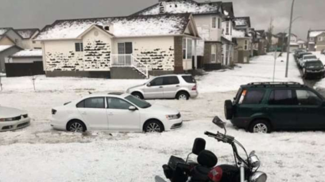 Calgary's 2020 hailstorm is Canada's 4th costliest natural disaster